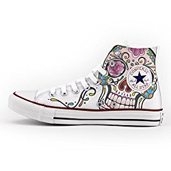 Totenkopf Converse All Star mit Mexican Skull